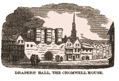 Drapers' Hall - The Cromwell House